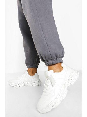 Boohoo Official Speckle Sole Chunky Sneakers
