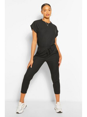 Boohoo Oversized Bandage T-Shirt And Trouser Co-Ord