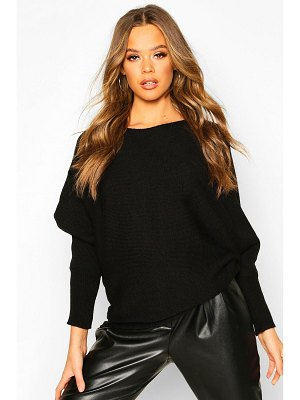 Boohoo Oversized Batwing Knitted sweater