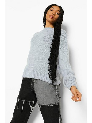 Boohoo Oversized Knitted Sweater