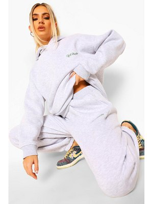 Boohoo Oversized Ofcl Studio Embroidered Tracksuit