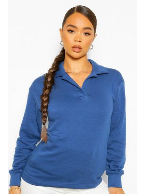 Boohoo Oversized Rugby Top