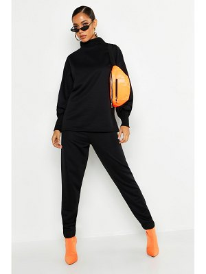 Boohoo Oversized Sweat & Wide Leg Pants Tracksuit