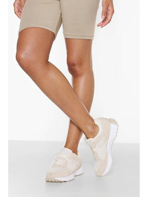 Boohoo Panelled Runner Trainer