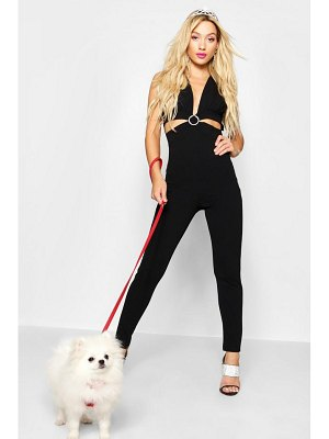 Boohoo Diamante Buckle Jumpsuit