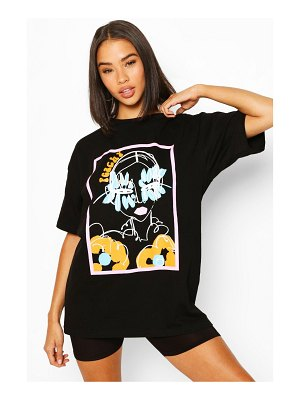Boohoo Peachy Graphic T-Shirt