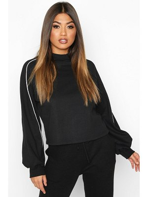 Boohoo Piping Detail Sweatshirt
