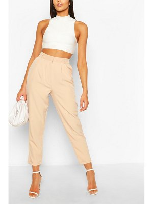 Boohoo Pleat Front Relaxed Fit Woven Pants