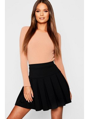 Boohoo Pleated Tennis Skirt