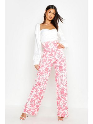Boohoo Porcelain Wide Leg pants
