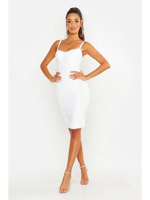 Boohoo Premium Cup Detail Bodycon Dress