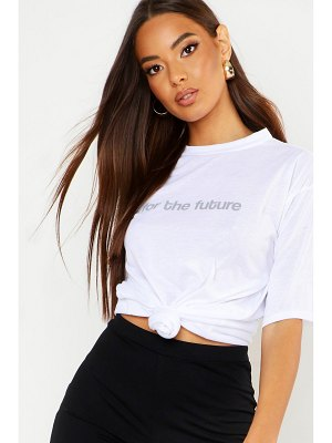 Boohoo Recycled For The Future Printed T-Shirt