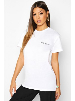 Boohoo Recycled 'Reloved' Printed T-Shirt