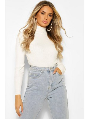 Boohoo Rib Knit Sweater
