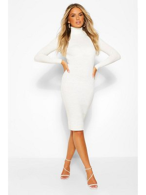 Boohoo Roll Neck Knitted Dress