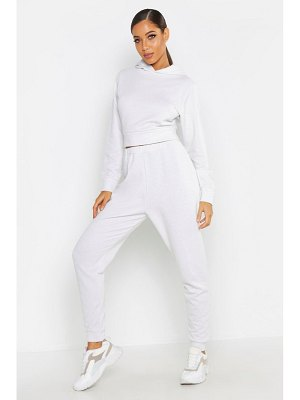Boohoo Shimmer Fabric Hooded Tracksuit