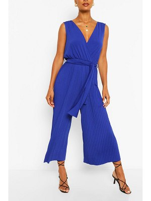 Boohoo Sleeveless Jumpsuit