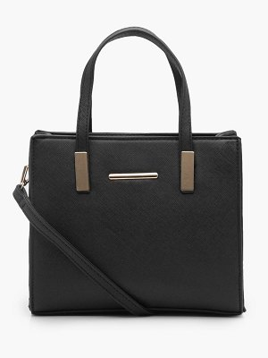 Boohoo Small Tote Cross Body Bag
