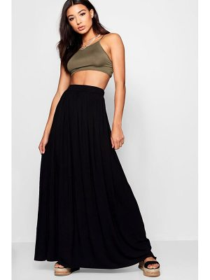 Boohoo Sophia Floor Sweeping Maxi Skirt