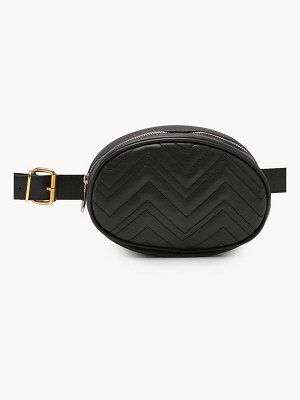 Boohoo Sophie Quilted Belt Bag