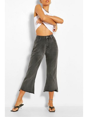 Boohoo Cropped Flare Jean