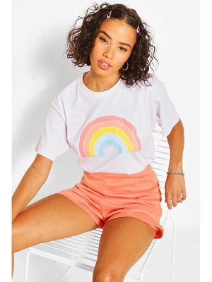 Boohoo Stay Positive Graphic T-Shirt