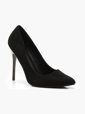 Boohoo Stiletto Heel Court Shoes
