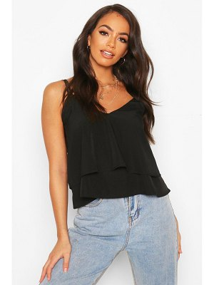 Boohoo Strappy Double Cami Top