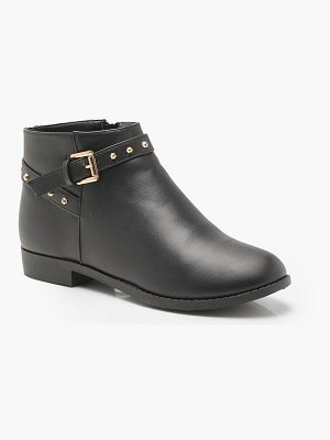 Boohoo Studded Ankle Strap Chelsea Boots
