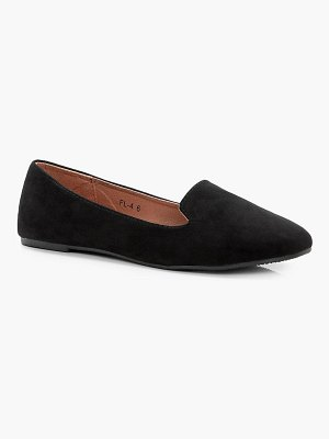 Boohoo Tab Top Slipper Ballets Immy