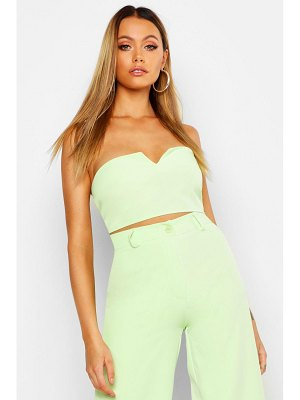 Boohoo Tailored Bandeau Top