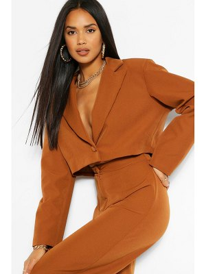 Boohoo The Power Shoulder Blazer