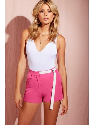 Boohoo Tailored Short With D-Ring