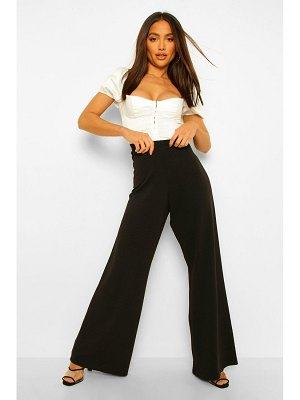 Boohoo Tailored Wide Leg Trouser