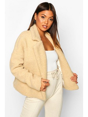 Boohoo Teddy Faux Fur Jacket