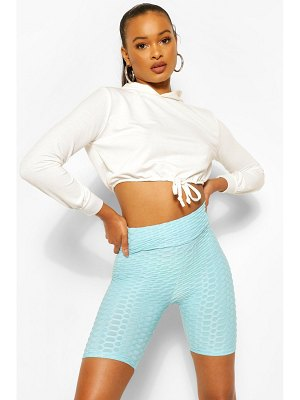 Boohoo Textured Fitted Cycling Short