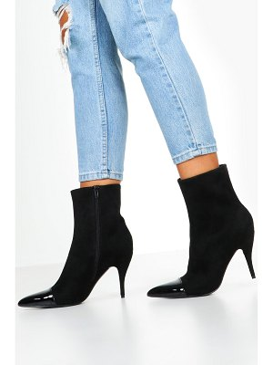 Boohoo Toe Cap Pointed Shoe Boots
