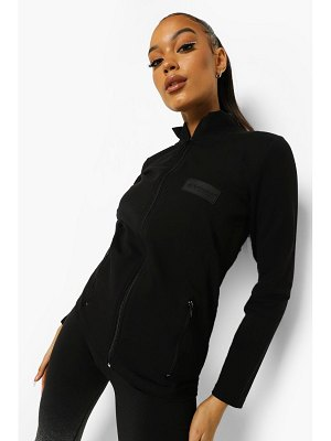 Boohoo Woman Rubber Tab Active Jacket