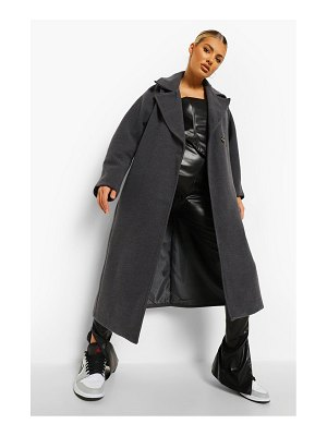 Boohoo Wool Look Cocoon Oversized Coat