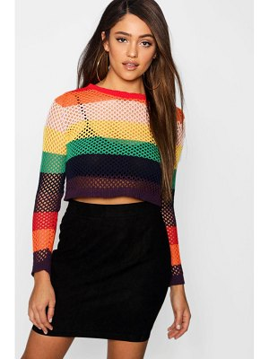 Boohoo Woven Soft Suedette A Line Mini Skirt