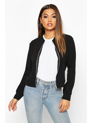 Boohoo Zip Through Bomber Jacket