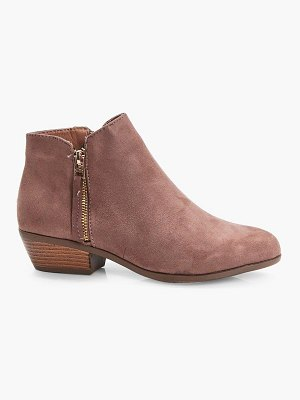 Boohoo Zip Trim Chelsea Ankle Boots