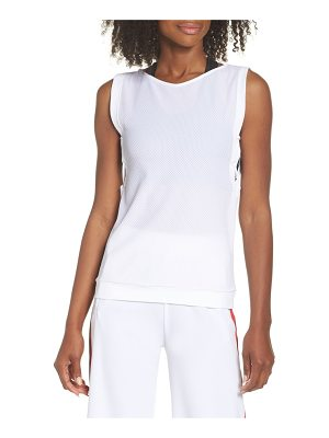 BOOM BOOM ATHLETICA lace-up tank