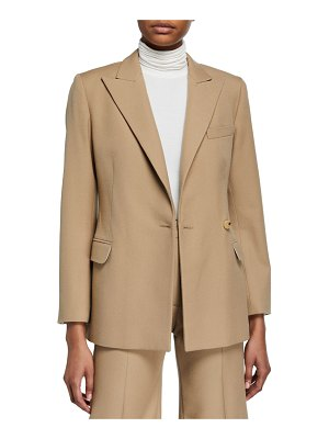 Boon The Shop Cinched Wool-Blend Suit Jacket