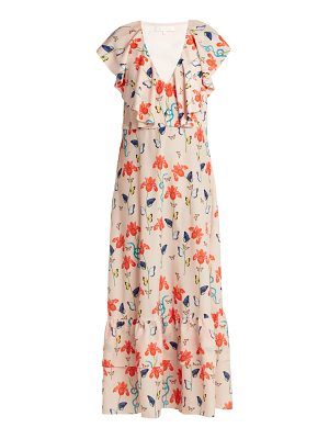 BORGO DE NOR Carlotta crepe maxi dress