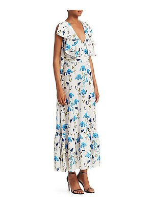 BORGO DE NOR carlotta tie-waist maxi dress