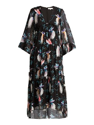 BORGO DE NOR Idris chiffon maxi dress