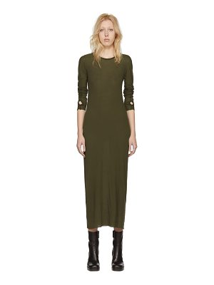 Boris Bidjan Saberi Long Sleeve T-shirt Dress