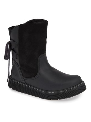 Bos. & Co. omega waterproof lace-back boot