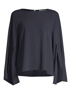 BOSS bingris stretch crepe split-sleeve blouse